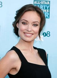 Olivia Wilde at the FOX All-Star Party.