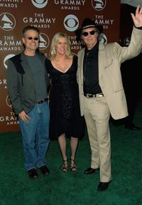 Pegi Young, Neil Young and Guest at the 48th Annual Grammy Awards.