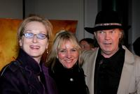 Meryl Streep, Pegi Young and Neil Young at the New York Screening of