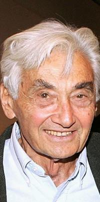 Howard Zinn at the after party of the Celebrity Reading of Voices Of A People's History Of The United States.