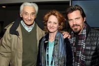 Howard Zinn, Melissa Leo and Josh Brolin at the People Speak ASCAP Music Cafe performance during the 2009 Sundance Music Festival.