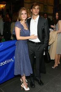 Kelli Garner and Logan Marshall-Green at the Broadway opening of