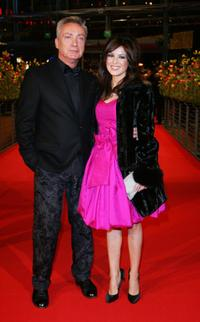 Udo Kier and Natalie Avelon at the 58th Berlinale Film Festival premiere of