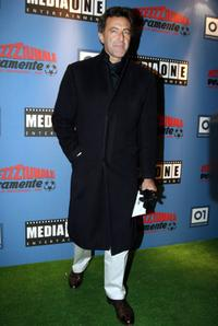 Luca Barbareschi at the Rome premiere of