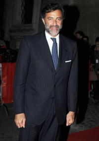 Luca Barbareschi at the 3rd Rome International Film Festival.