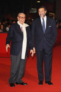 Gian Luigi Rondi and Luca Barbareschi at the 3rd Rome International Film Festival.