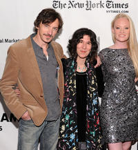 John Hawkes, Debra Granik and Lauren Sweetser at the IFP's 20th Annual Gotham Independent Film Awards.