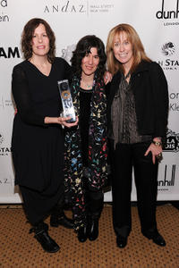Producer/co-writer Anne Rosellini, Debra Granik and producer Alix Madigan Yorkin at the IFP's 20th Annual Gotham Independent Film Awards.