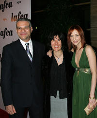 Steven Zeller, Debra Granik and Vera Farmiga at the 31st Annual Los Angeles Film Critics Association Awards.