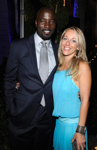 Mike Colter and Iva Colter at the CW launch party presented by Bing in California.