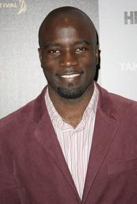Mike Colter at the premiere of