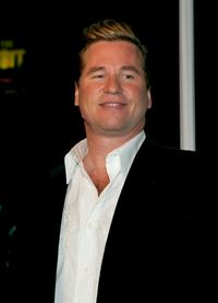 Val Kilmer at the premiere of