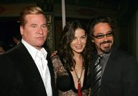 Val Kilmer, Michelle Monaghan and Robert Downey Jr.at the premiere of