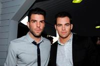 Zachary Quinto and Chris Pine at the 19th Annual Hollywood Charity Horse Show.
