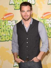 Chris Pine at the Nickelodeon's 2009 Kids Choice Awards.
