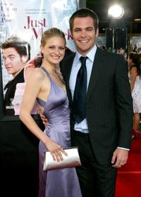 Soreil Carradine and Chris Pine at the California premiere of