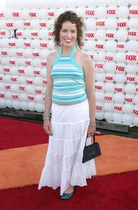 Crista Flanagan at the Fox All-Star Television Critics Association party.