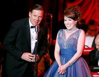 Joel Murray and Crista Flanagan at the