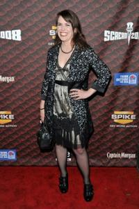 Crista Flanagan at the Spike TV's 2008 Scream awards.