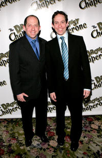 Jason Kravits and Garth Kravits at the after party of the Broadway Opening Night of