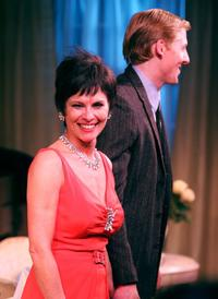 Adrienne Barbeau and Kerby Joe Grubb at the curtain call for the opening night of