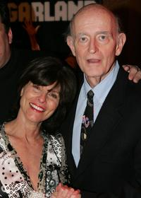 Adrienne Barbeau and Peter Boyle at the after party for the opening night of