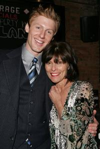 Adrienne Barbeau and Kerby Joe Grubb at the after party for the opening night of