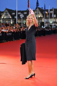 Sandrine Kiberlain at the 35th American Film Festival.