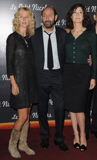 Sandrine Kiberlain, Kad Merad and Valerie Lemercier at the premiere of