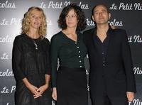 Sandrine Kiberlain, Valerie Lemercier and Laurent Tirard at the premiere of