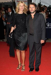 Sandrine Kiberlain and Bruno Podalydes at the screening of
