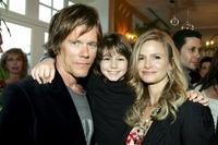 Kevin Bacon, Dominic Scott Kay and Kyra Sedgwick at the IFC's 20th Annual IFP Independent Spirit Awards after party.