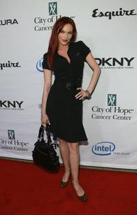 Carmit Bachar at the Songs of Hope IV at Esquire 360 house.