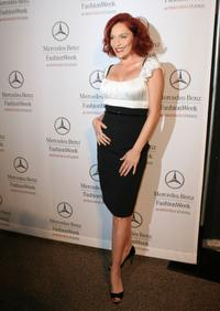 Carmit Bachar at the Mercedes-Benz Fashion Week.