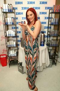 Carmit Bachar at the Belvedere Luxury Lounge in honor of the 80th Academy Awards.