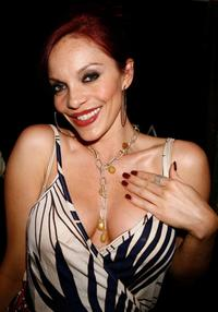 Carmit Bachar at the Bratz Forever Diamondz Lounge.