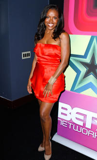 Nadine Ellis at the 2011 BET Networks Upfront in New York.