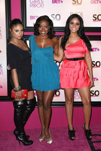 Joyful Drake, Nadine Ellis and Erica Hubbard at the 5th Annual Black Girls Rock! Awards in New York.