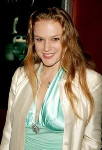 Erin Cottrell at the premiere of