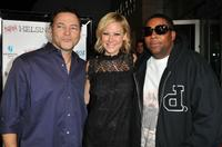 Director Bo Zenga, Desi Lydic and Kenan Thompson at the Los Angeles premiere of