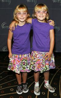 Zoe Schlagel and Amy Schlagel at the 2007 The Hollywood Radio and Television Society Kids Day.