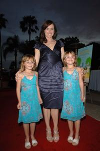 Zoe Schlagel, Molly Shannon and Amy Schlagel at the LA premiere of