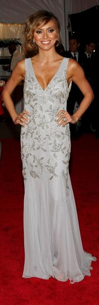 Giuliana DePandi at the Metropolitan Museum of Art Costume Institute Gala.