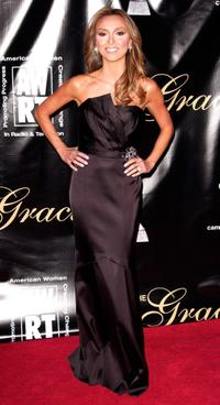 Giuliana DePandi at the 33rd Annual American Women in Radio & Television's Gracie Allen Awards.