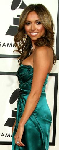 Giuliana DePandi at the 50th annual Grammy awards.