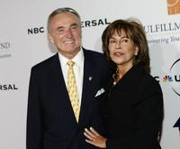 William J. Bratton and his Wife Rikki Klieman at the Fulfillment Fund's Annual Stars gala.