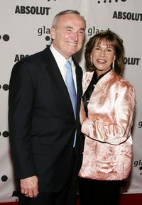 William J. Bratton and his Wife Rikki Klieman at the 17th Annual GLAAD Media Awards.