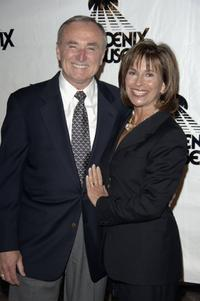 William J. Bratton and his Wife Rikki Klieman at the Phoenix House Awards.