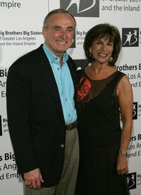 William J. Bratton and his Wife Rikki Klieman Bratton at the Big Brothers Big Sisters Rising Stars Awards 2006.
