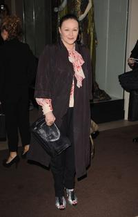 Frances Barber at the London Evening Standard Theatre Awards.